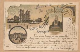 Souvenir De Vitry Le François - Voyagée 1904 - Vitry-le-François