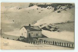 Chasseurs Alpins - Chasseurs Alpins à La Frontière Franco Italienne - Refuge N°18 - 2 Scans - Régiments