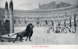 Cartolina Antica ULTIMA PREGHIERA - OTTIMA L85 - Pittura & Quadri