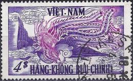 Vietnam Kingdom 1955 - Phoenix ( Mi 101 - YT Pa 10 ) Airmail - Viêt-Nam