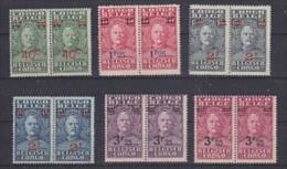 Belgisch Congo 1931 Stanley 6w Opdruk (in Paar) ** Mnh (26400) - Belgisch-Kongo