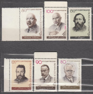 Russia USSR 1963 Mi# 2711 2753 2808 2833 2834 2840 Writers MNH * * - 1923-1991 USSR