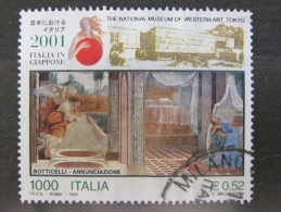 ITALIA USATI 2001 - ITALIA IN GIAPPONE 2001 - RIF. G 1802 LUSSO - 6. 1946-.. Repubblica