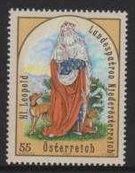 D 926) Österreich Austria 2009 Mi# 2841 **: Markgraf Leopold III., Der Heilige (1073-1136), Landespatron Von Österreich - 1945-.... 2. Republik