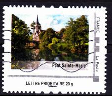 """Montimbramoi, Lettre Prioritaire.20gr """"Pont Sainte Marie"""",  Used/oblitéré - France"""