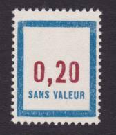 FRANCE FICTIF N° F144 ** Timbre Neuf Gomme D´origine Sans Trace De Charnière - TB - Phantomausgaben