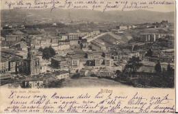 CPA RARE ESPAGNE BILBAO VISTA DESDE MIRAVILLA - Vizcaya (Bilbao)