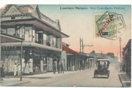 MOZAMBIQUE - Louranço Marques, Rua Conselheiro Pedroso - Carte En L'état - Mozambique