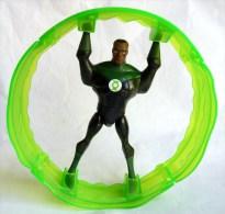 1 FIGURINE MAXI KINDER MONTABLE 2009 JUSTICE LEAGUE - GREEN LANTERN - DC COMICS - Ü-Ei
