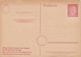 Germany Postal Stationery Card - Entiers Postaux