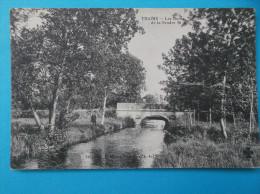 17 : THAIMS : Les BORDS De La SEUDRE ,  CPA : Carte En Très Bon état,,animée - Ponts