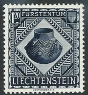 Liechtenstein  1953   Sc#276  1.20fr Jug   MH*  2016 Scott Value $24 - Liechtenstein