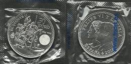 EUROPA ESPAÑA M0NEDA DE 30,00€ LA PRIMERA MONEDA EN PLATA  DE COLECCION CON LAS EFIGIES DE LOS REYES (M.C.12.15) - España