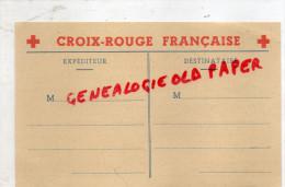 CROIX ROUGE - GUERRE 1939-1945- WW2-  RESERVEES AUX PERSONNES AYANT DES PARENTS PRISONNIERS DE GUERRE - Croix-Rouge