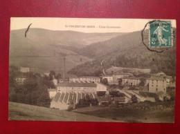 69 Rhône St SAINT VINCENT DE REINS Usine Gouttenoire (bis) + Ambulant St Vincent - Altri Comuni