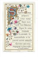 IMAGE PIEUSE...édit. Bonamy Pl.108.. Seigneur Jésus Préparez- Vous Même Dans Mon Coeur...en 1894 - Devotieprenten