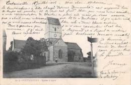 Coutainville   50      Eglise D'Agon - France