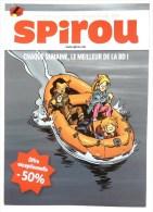 FLYERS ABT JOURNAL SPIROU 2012 - GAZZOTTI - SEULS Canots - Oggetti Pubblicitari