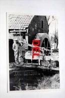 Neeroeteren  Molen - Photo Originale Des Années 1960-1970 - Maaseik