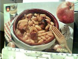 RICETTA ASTURIAS SPAIN ESPAGNE FABADA ASTURIANA  ED IBERIA  AIR MAIL   N1975  FC6338 - Ricette Di Cucina