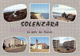 20 - 2A - CORSE - SOLENZARA - CPSM - MUltivues  - 1968 - 2 Scans - France