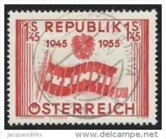 Osterreich        Yvert    847              O                 Gebraucht - 1945-.... 2de Republiek