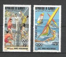Djibouti  JO Los Angeles 1984  Perf  **  MNH - Summer 1984: Los Angeles
