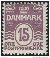 Denemarken         Yvert     52            *                    Ongebruikt  /  Mint - Hinged