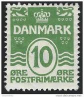 Denemarken         Yvert      135               *                    Ongebruikt  /  Mint - Hinged - 1913-47 (Christian X)