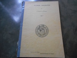 Boek (20 X 28 Cm , 59 Blz) Rotemse Geslachten Deel I (Severijns Segers) Rotem 1967 Stamboom - Boeken, Tijdschriften, Stripverhalen