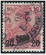 Turkei              Michel       13  II                O                    Gebraucht - Deutsche Post In Der Türkei