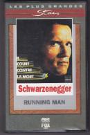 Running Man Il Court Contre La Mort Schwarzenegger   Stars  CPS Fox Video 38 VHS Secam 5447 15  BE - Sci-Fi, Fantasy