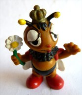 FIGURINE ABEILLE - BULLY 1975 03 ROI - Pas MAYA (2) Paupières Peintes - Figurines