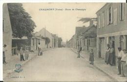 Chaumont(Yonne) Route De Champigny - France