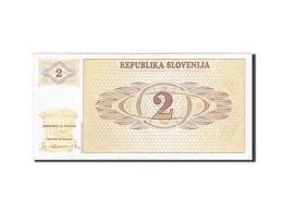 Slovénie, 2 Tolarjev, Type 1990-1992 - Slovénie