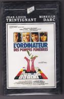 L'Ordinateur Des Pompes Funèbres J.I. Trintignant Mireille Darc  Victor's Video Vision  VHS  BE - Krimis & Thriller