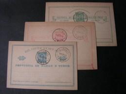 == Timor Lot 3 Old Cards  1893 - Timor