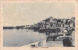 """03027 """"ANCONA - PANORAMA""""  CART.  SPED. 1921 - Ancona"""