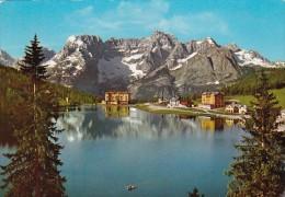 Italy Dolomiti Lago di Missurina Il Sorapis 1970