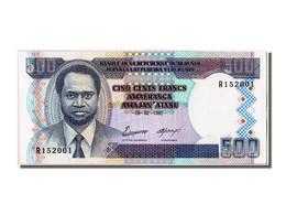 Burundi, 500 Francs Type 1993-97 - Bankbiljetten
