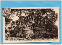 CAMBODGE-ANGKOR-THOM-temple Du Bapuon Angle Sud Est  N° 28--oblitération 24dec 1926 - Cambodge