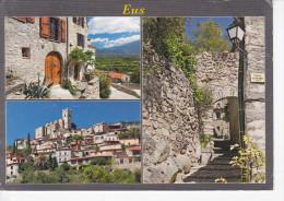 EUS (66-Pyrénées Orientales) Vue Générale,Ruelle Du Village, Photos C. Nègre, Ed. Objectif Sud 2013 - France