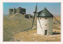 España--Toledo--La Mancha--Molino De Consuegra-- - Molinos De Viento