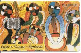 CARTE°-PUCE-WALLIS Et FUTUNA-WF7-05/95-SC7-TAPISSERIE-PILIOKO-NEUVE Sans BLISTER-TBE-LUXE - Wallis And Futuna