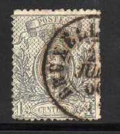 N° 22 OBLITERE 1 CT GRIS COTE 165 € - 1893-1907 Wappen