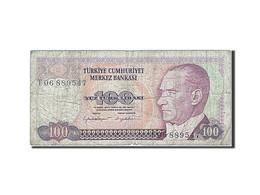 Turquie, 100 Lira, Type Président Ataturk - Turquie