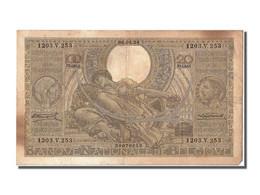 Belgique, 100 Francs / 20 Belgas Type 1933;1935 - Belgio