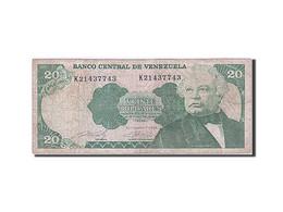 Venezuela, 20 Bolivares, Type J. A. Paez - Venezuela