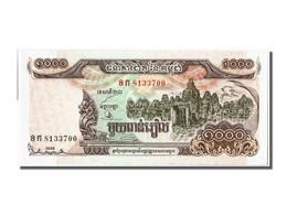 Cambodge, 1000 Riels Type 1999 - Bankbiljetten