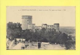 CPA 02  COUCY Le CHATEAU  Avant Guerre  Vue Prise Au Levant - Zonder Classificatie